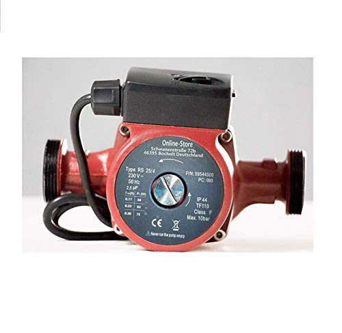 Circulador doméstico RS 25/4-180 Bomba de circulación Circuladoras bomba recirculadora solar Bombas calderas parqa calefaccion y agua caliente