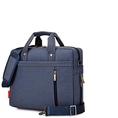 CMZ Men's and Women's Laptop Bag Oxford Material Waterproof and wear-Resistant Handbag Shoulder Bag Business Casual Shoulder Bag