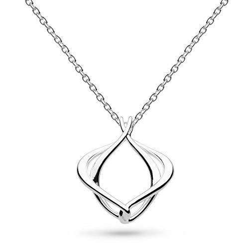 Kit Heath Sterling Silver Entwine Alicia Small 18' Necklace, 90018HP