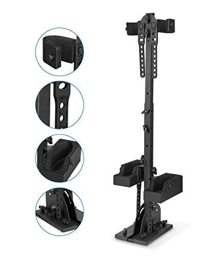 UTV Gun Holder, kemimoto Floor Mount Vertical Gun mount Compatible with Polaris Ranger General Honda Can Am Defender Kawasaki Golf cart