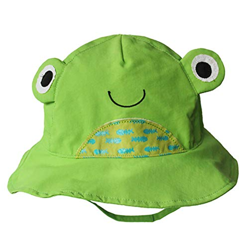 Frog Bucket Hat for Toddlers