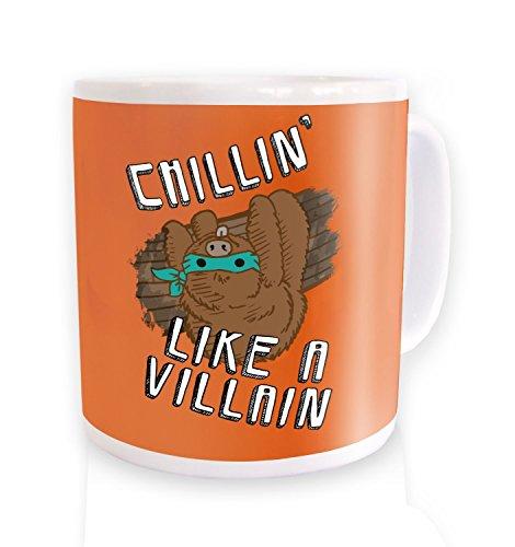 Chillin Like A Villain Mug by Kids Clothing By Big Mouth