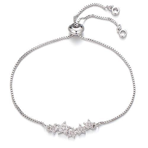 Main Bracelet Femme Bijoux Bracelet Connecté Élégant Cuivre Zircone Cubique Bracelets De Mariage De Mariée pour Femmes D