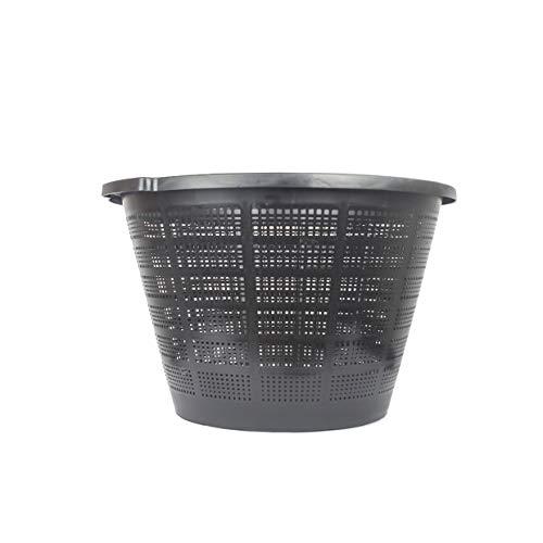 1 cesta XXL redonda para plantas acuáticas / grande / adecuada para estanques de jardín como nenúfares o plantas de estanque