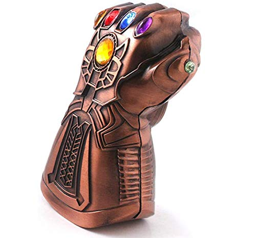 Apribottiglie a tema: Marvel The Avengers 4 Endgame, a forma di guanto di Thanos, ideale per bar, feste, amanti della birra, ottimo regalo di compleanno creativo per i fan della Marvel