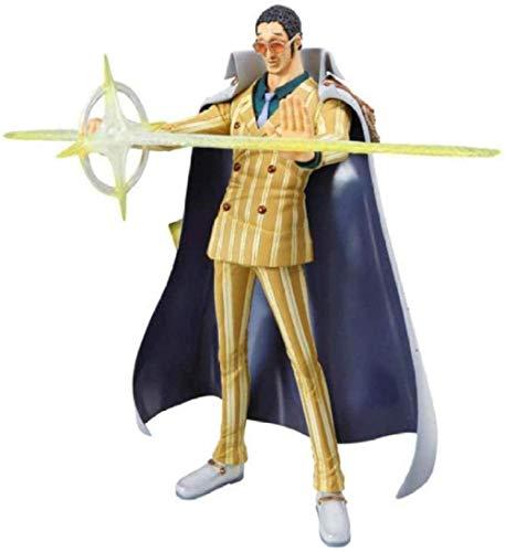 Juguetes de Anime One Piece Marine Admiral Borsalino PVC Figura de acción de colección Modelo muñeca Juguetes 26 Cm