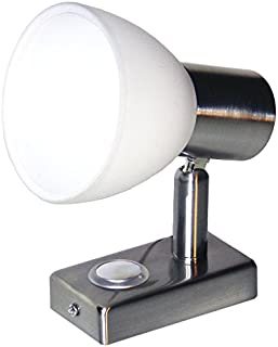 3W, Blanco C/álido Balacoo 2 Piezas L/ámpara de Lectura L/ámpara Flexible de Noche Luz de Pared LED con Interruptor