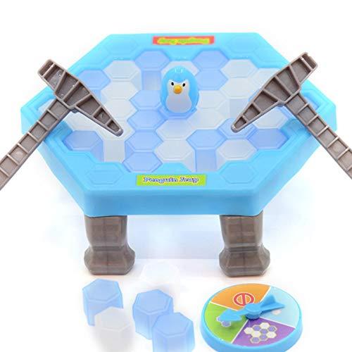 Horypt Juego de Romper Bloques de Hielo, Juego Save Penguin on Ice,...