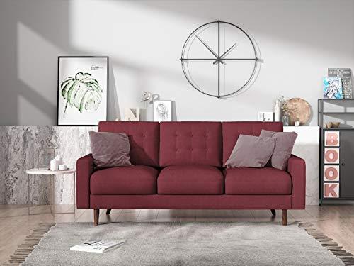 US Pride Furniture Sofas, Burgundy