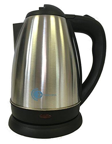 Sarcona Wasserkocher aus Edelstahl 1,8l 1800 Watt