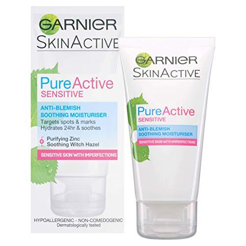 Garnier Pure Active - Limpiador profundo de poros diario para el brillo y las rojeces