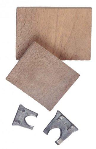 Conmetall COXT856061 Krallenkeile 18-22mm + 2 Holzkeile je 1x18+22mm, 2xHolzkeile, Mehrfarbig