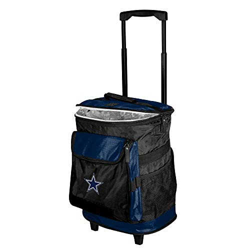 Logo Brands Officially Licensed NFL Dallas Cowboys Unisex Rolling Cooler, One Size, Team Color