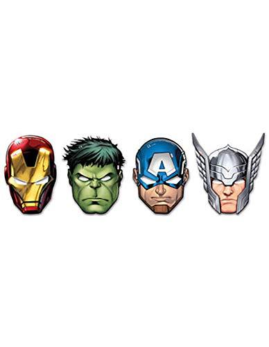 Procos Maske Avengers Mighty, mehrfarbig, 5PR87976