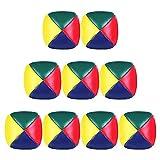 Giocoleria Palle Set per Principianti,9 Pezzi Mini Giocoleria Palle di Juggle, Durevole Palle Giocoliere Kit, Morbido Facile Giocoliere Palle Soft Classic Juggle Balls per Ragazzi Ragazze e Adulti