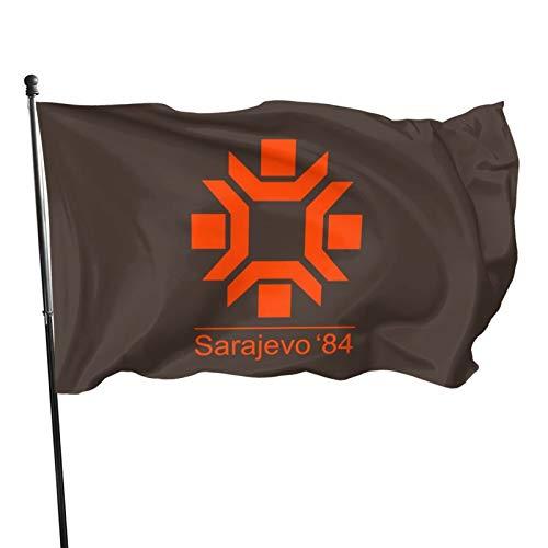 N/F 1984 Winter Olympische Spiele – Sarajevo Fahne Banner Flaggen