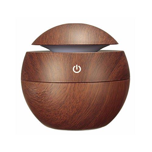 MOHOO 130ml Diffuseur d'Huiles Essentielles USB...