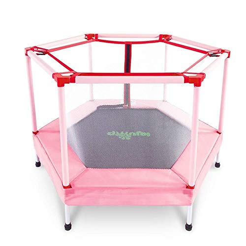 Sale!! LMXQQ Trampoline Trampoline with Safety Guard, Foldable Mini Trampoline for Children Indoors ...
