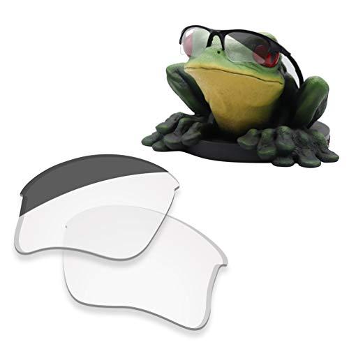 Acefrog Lentes de repuesto polarizadas con revestimiento AR de 1,4 mm de grosor para gafas de sol Oakley Half Jacket XLJ
