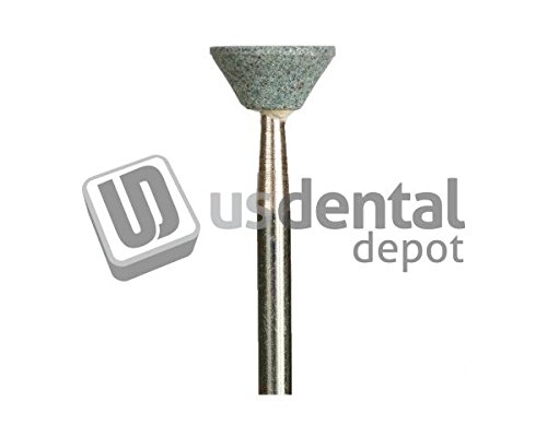 KEYSTONE - I - 5Hp Green Mounted Points - small inverted cone - 12pk - 034-1631194 Us Dental Depot