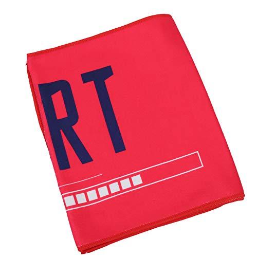 VORCOOL Toalla de gimnasio para entrenamiento, toalla de sudor para hombre, superabsorbente, secado rápido, para ejercicio, para sudor, color rojo