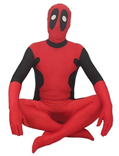 NVHAIM Avengers Adultos Deadpool 2 Medias Muellos, Impresión 3D Play Play Fiest Fiest Fiester Supplies,Adult L
