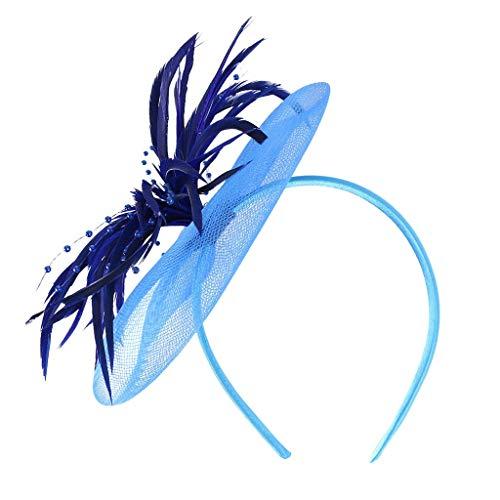 Kangfang Femmes Fleur Headband Party Headhair pour Filles Femmes Headwear Lady Accessoires (Color : Hot Pink)