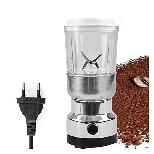 ODSHY Elektrische Kaffeebohne Grinder Grain Herb Pulverizer Grinder 2-in-1 Haushalt Super Powerful Grinder Maschine 220-240V EU-Stecker