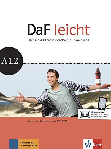 DaF leicht A1.2: Deutsch als Fremdsprache für Erwachsene. Kurs- und Übungsbuch mit DVD-ROM (DaF leicht: Deutsch als Fremdsprache für Erwachsene)