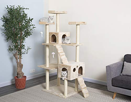Go Pet Club Cat Tree, 50W x 26L x 72H