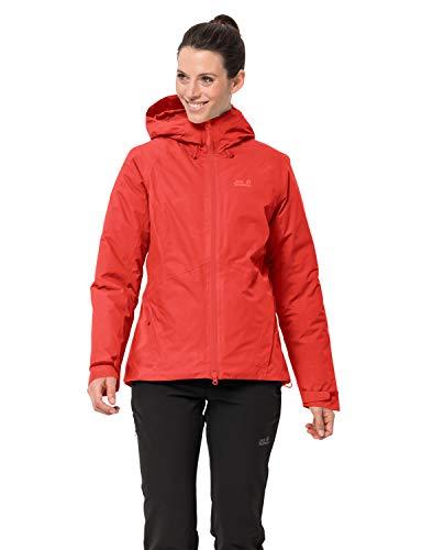 Jack Wolfskin Damen Argon Storm Jacket W Wetterschutzjacke, orange Coral, M