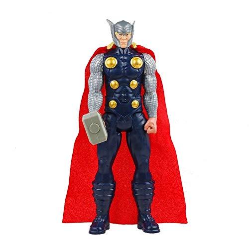 30cm Marvel Vingadores Veneno Hulk Pantera Negra Homem Formiga Capitão América Thor Wolverine Thanos Figura De Ação Do Miúdo Brinquedo para Crianças (Thor no Box)