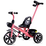 Baybee Spectra II Tricycle for Kids, Plug n Play Kids Trike Ride on with Storage Space & Parental Handle, Kids Tricycle| Baby Cycle, Children Cycle Suitable for Boys & Girls Age 1.5-5 Years