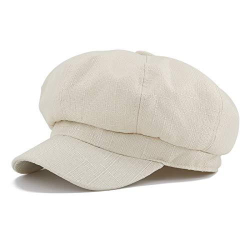 Gisdanchz Sombrero Octogonal Boinas Gorras De Mujer