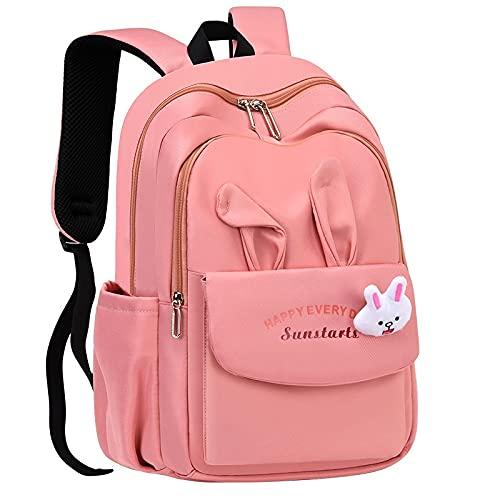 jwj Bolsas escolares impermeables mochilas escolares de dibujos animados para niños, mochila de princesa, mochila escolar para niños, bolsa de hombro (color: púrpura)