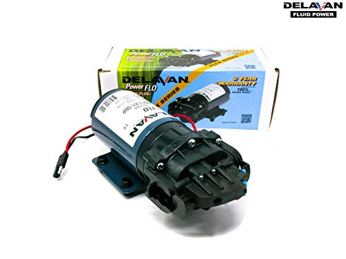 Delavan 7822FS-201-SBI PowerFlo 2.0 GPM 12 Volt 60 PSI On Demand Diaphragm Pump