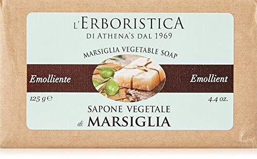 L'Erboristica di Athena's dal 1969 Sapone Vegetale Di Marsiglia G., 125 Grammo