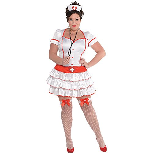 Amscan 847018-55 Dress Up Costume d'infirmière Taille 44-29