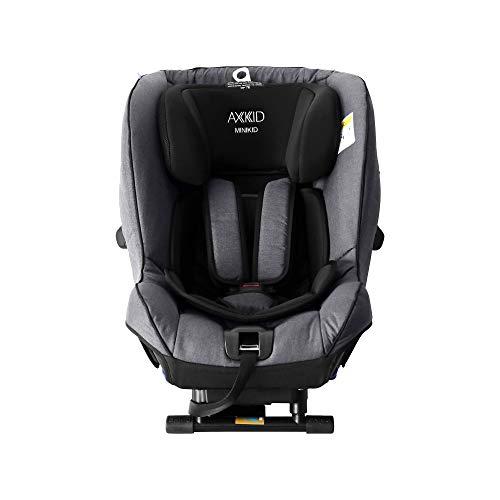 Axkid Minikid 2.0 Kindersitz Reboarder 0-25 kg, ohne Isofix inkl. Sitzverkleinerer, Seitenaufprallschutz