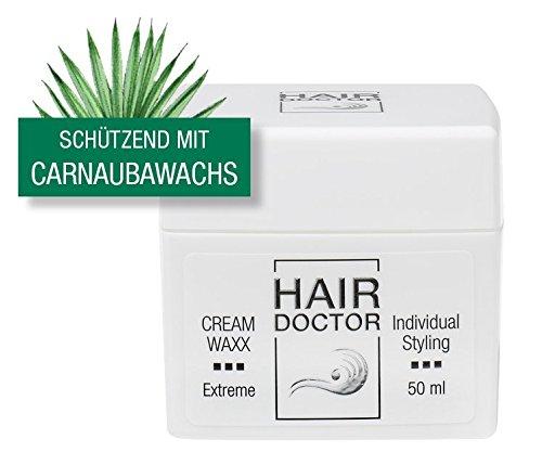 Hair Doctor Cream Waxx Haarwachs schützend mit Carnaubawachs, 1er Pack (1 x 50 ml)