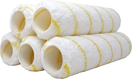 Pro Grade - Paint Roller Covers - 1/2 X 9 Inch Microfiber 5 Pack