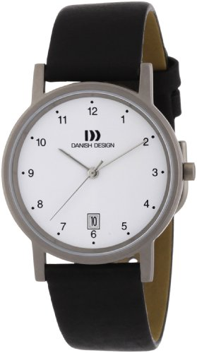 Danish Design Herren-Armbanduhr XL Analog Leder 3316033