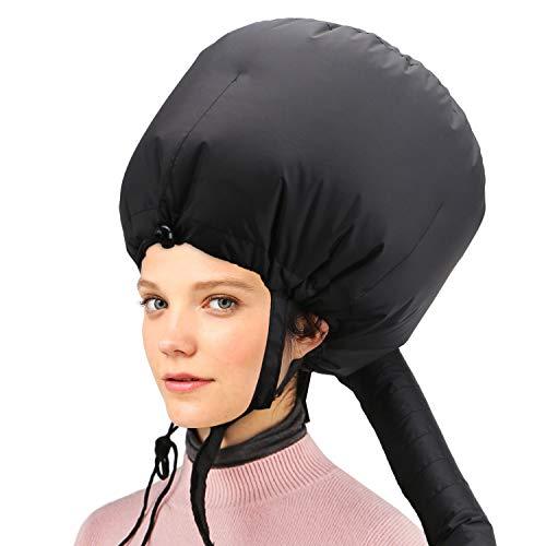 Capucha para secador de pelo, accesorio de secador de pelo ajustable Capó Cabello Acondicionador profundo Acondicionador tipo Y Correas laterales con vaporizador para cabello con banda elástic