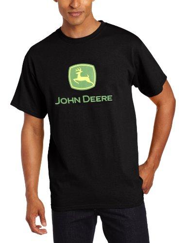 John Deere Logo T-Shirt - Men's - Black, Medium
