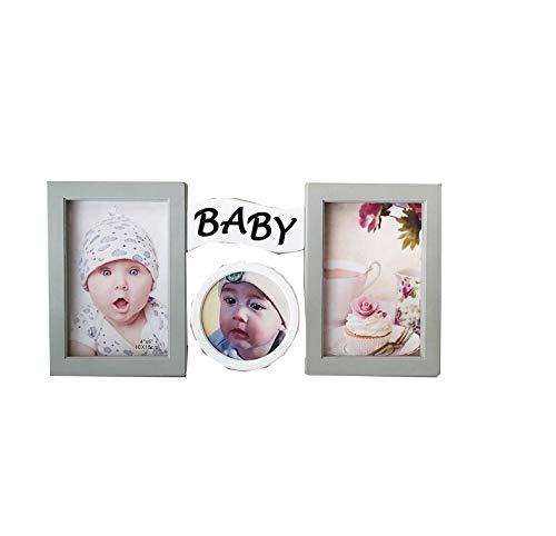 rainbowhh Fotorahmen Kreative Liebe Baby Fotorahmen Desktop Widget Geschenk 6 Zoll Baby