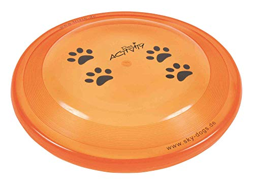 Trixie 33561 Dog Activity Dog Disc, bissfest, ø 19 cm