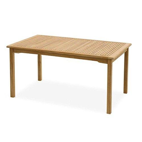 SEDEX Carolina Gartentisch 140x60cm / Tisch/Holztisch/Eukalyptus FSC - Natur
