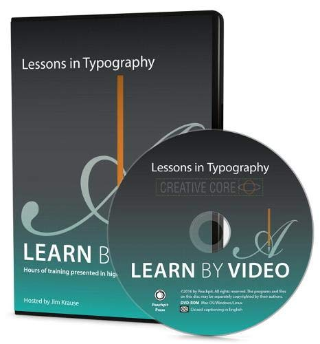 Learn by Video: Lessons in Typography