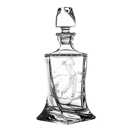 Crystaljulia 10163 Carafe à whisky Crystalite Transparent