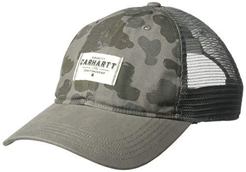 Carhartt Glennville Cap Gorra de béisbol, Gravel Duck Camo, Talla única Unisex...